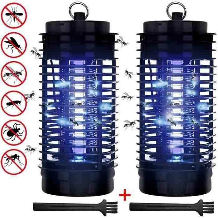 Comment fabriquer une lampe Anti-moustique ?