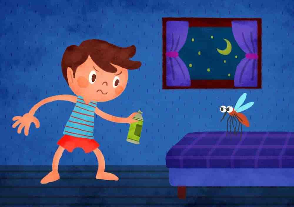 Comment se débarrasser des moustiques la nuit ?