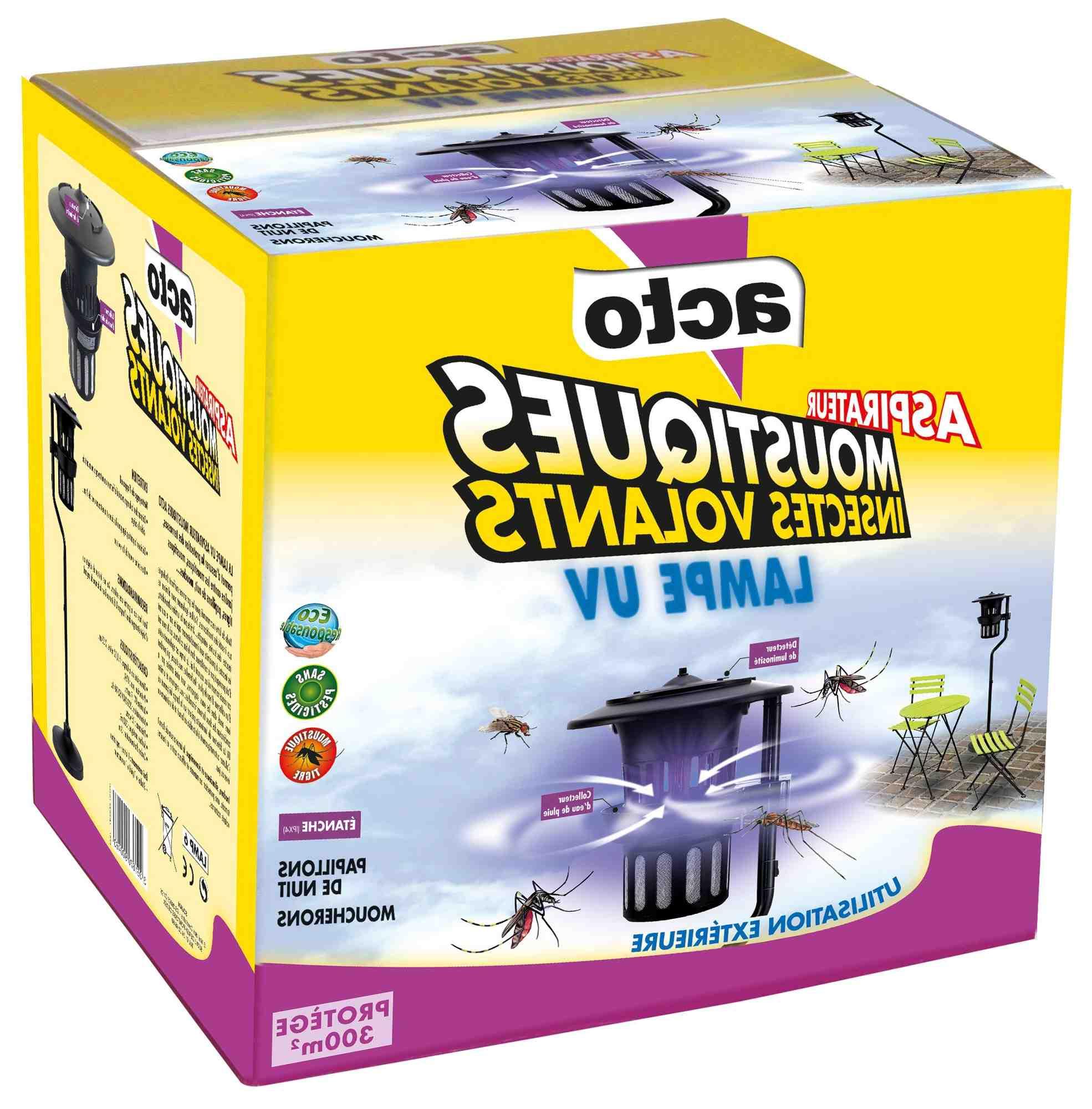 Est-ce que les moustiques sont attirés par les UV ?